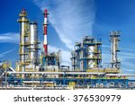 petrochemical plant  oil... | Shutterstock . vector #376530979