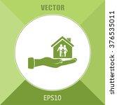 concept illustration of safety... | Shutterstock .eps vector #376535011