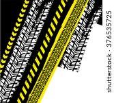 danger tape background   Shutterstock .eps vector #376535725