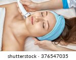 ultrasonic face cleaning ... | Shutterstock . vector #376547035