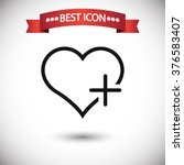 favorites icon vector