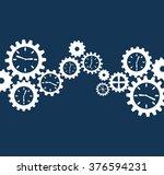 gears concept design  | Shutterstock .eps vector #376594231