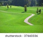 golf course | Shutterstock . vector #37660336