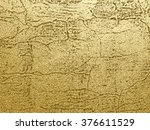 gold texture with cracks...   Shutterstock .eps vector #376611529