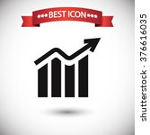 chart icon vector | Shutterstock .eps vector #376616035