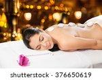 massaging. | Shutterstock . vector #376650619