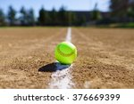 Softball In A Softball Field I...