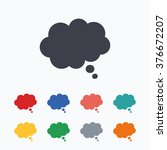 comic speech bubble sign icon.... | Shutterstock . vector #376672207