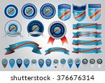 made in congo seal  republic of ... | Shutterstock .eps vector #376676314