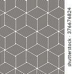 vector seamless pattern. modern ... | Shutterstock .eps vector #376676824