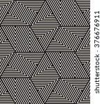 vector seamless pattern. modern ... | Shutterstock .eps vector #376676911