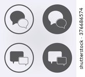 speech bubble icon or message...