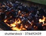 Black Burned Charcoal Bbq Grid...