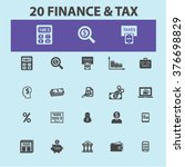 finance icons | Shutterstock .eps vector #376698829