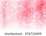 cherry spring flower background   Shutterstock .eps vector #376713409