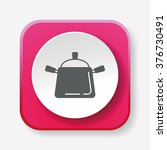 pot icon | Shutterstock .eps vector #376730491