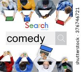 Small photo of Comedy Fun Happiness Amusement Satire Cheerful Concept