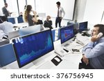 business team investment... | Shutterstock . vector #376756945