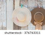 Straw Hats For Sale  Hanging O...