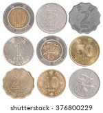 Set Hong Kong Coins Isolated O...
