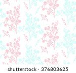 floral seamless background...   Shutterstock .eps vector #376803625