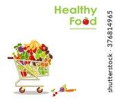 useful food health security.... | Shutterstock .eps vector #376814965