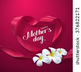 happy mothers day. vector... | Shutterstock .eps vector #376822171