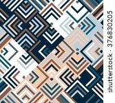 vector silver pattern.... | Shutterstock .eps vector #376830205