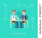 flat style vector conceptual... | Shutterstock .eps vector #376830277