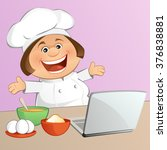 the chef | Shutterstock .eps vector #376838881