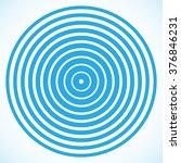 vector ripples lines . | Shutterstock .eps vector #376846231
