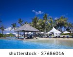 hotel recreation zone with... | Shutterstock . vector #37686016