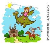 Princess  Knight  Horse  Rider...