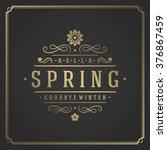 Spring Vector Typographic...