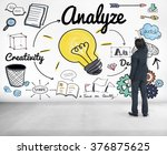 analysis analytics study... | Shutterstock . vector #376875625