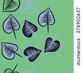 vertical  pattern of autumn... | Shutterstock . vector #376902637
