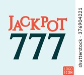 jackpot icon. jackpot 777 icon...