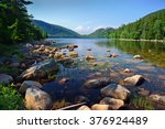 Jordan Pond And Bubbles At...