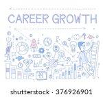 career growth infographics.... | Shutterstock .eps vector #376926901