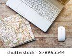 creative horizontal top view... | Shutterstock . vector #376965544