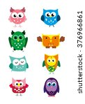 cute vector collection of... | Shutterstock .eps vector #376966861