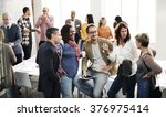 diversity people group team... | Shutterstock . vector #376975414