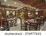 interior design of a luxury... | Shutterstock . vector #376977631