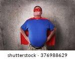 super hero defender of the... | Shutterstock . vector #376988629