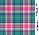 textured tartan plaid | Shutterstock .eps vector #377007967