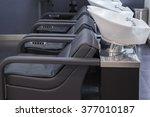 interior view of luxury beauty... | Shutterstock . vector #377010187