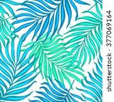 beautiful seamless tropical... | Shutterstock .eps vector #377069164