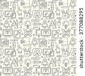 vector graphic design seamless... | Shutterstock .eps vector #377088295