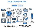 worldwide travel vacation...