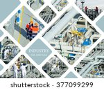 industrial. oil and gas... | Shutterstock . vector #377099299